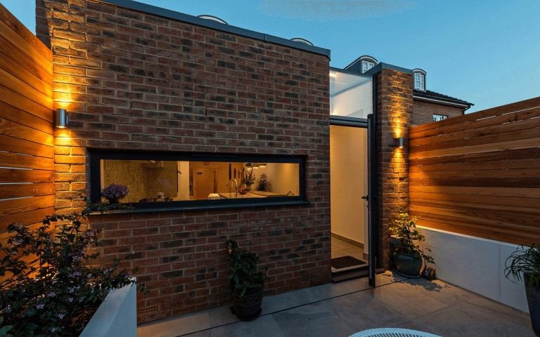Tait Architects contemporary small extension Reading Berkshire