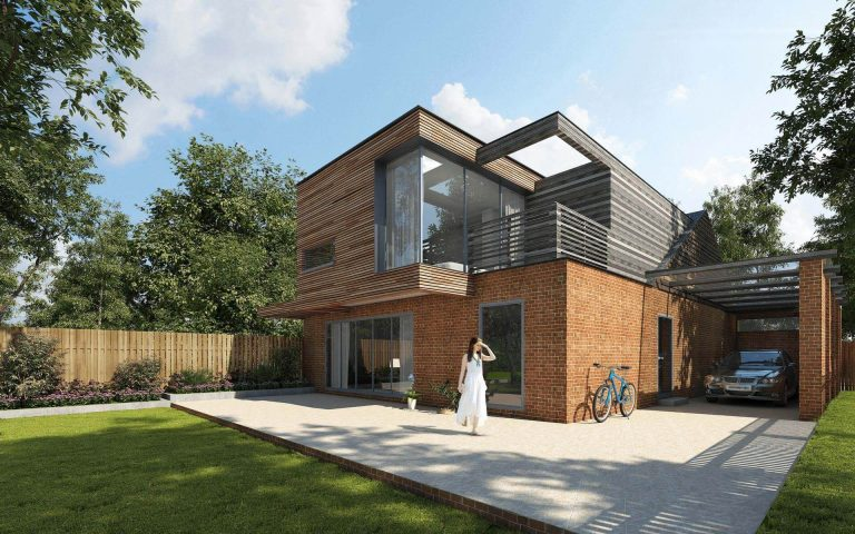Tait Architects contemporary modern house concept Berkshire